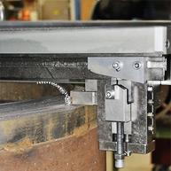 Опция копировальной каретки для формирования фаски