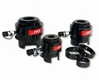 Top side bolt tensioners