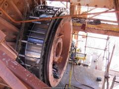 Восстановление валов, проточка роторов мобильными станками